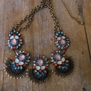 Anthropologie Statement Bib Necklace
